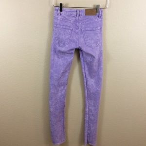 Divided Purple Skinny
